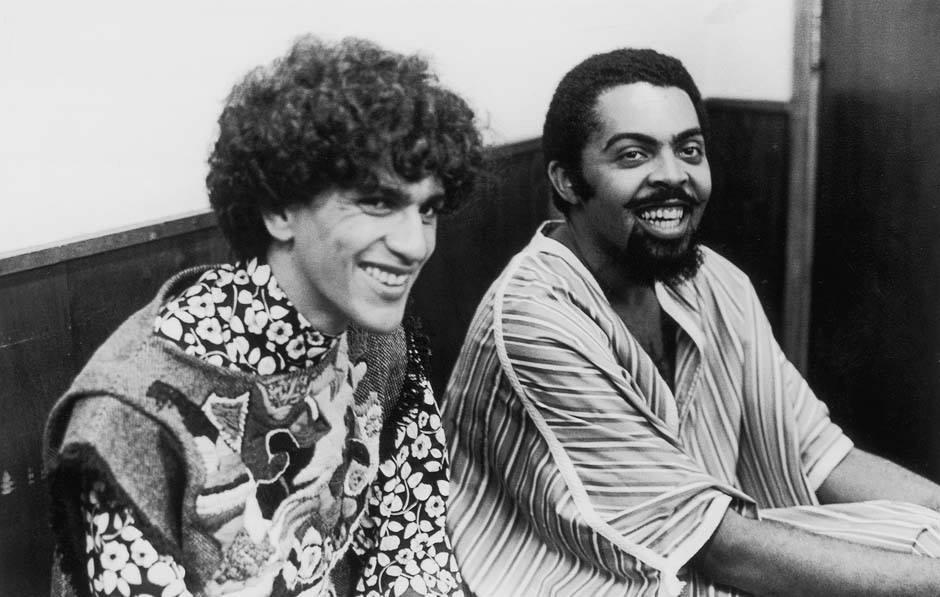 Zezé Motta, Caetano Veloso, Gilberto Gil