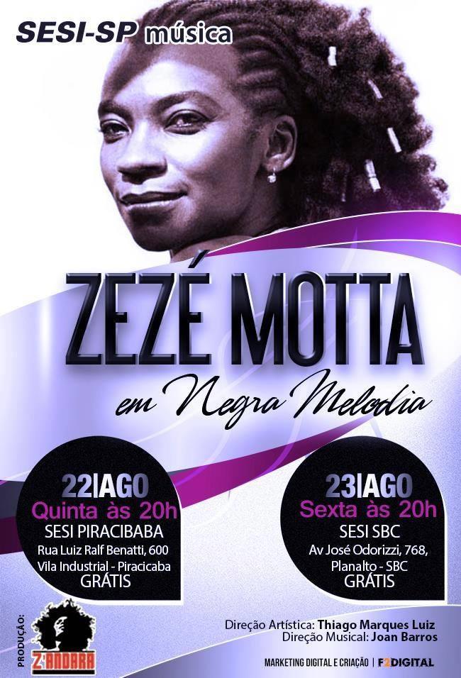 Zezé Motta Sesi-Sp