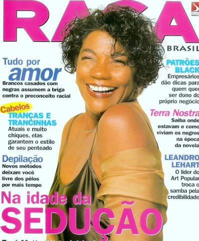 Zezé Motta, Capa Raça