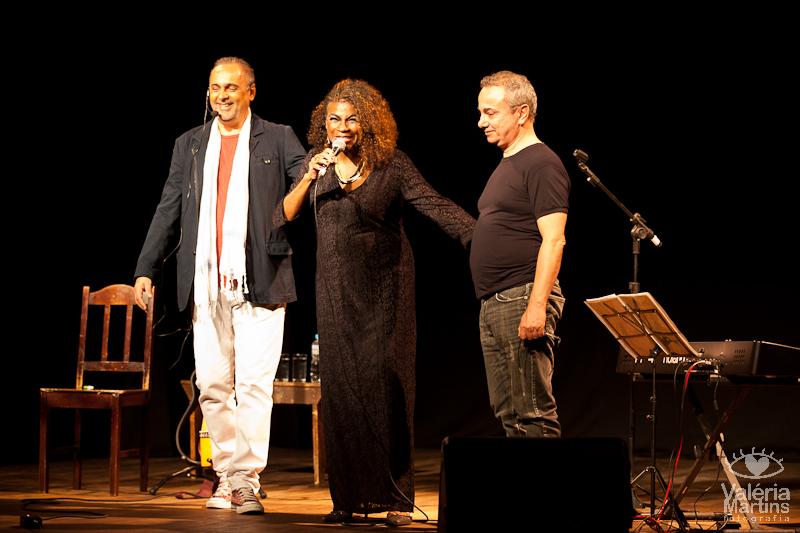 Sérgio Dumont, Zezé Motta e Ricardo Mac Cord | Foto: Valéria Martins