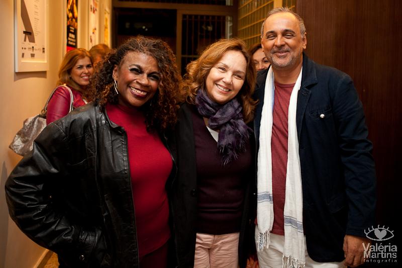 Zezé Motta, Jane Duboc e Sérgio Dumont | Foto: Valéria Martins