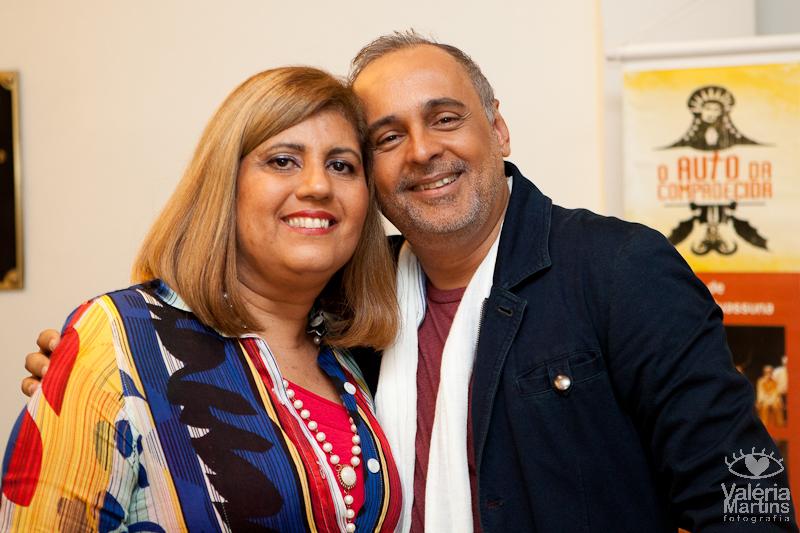 Márcia Amenta e Sérgio Dumont | Foto: Valéria Martins