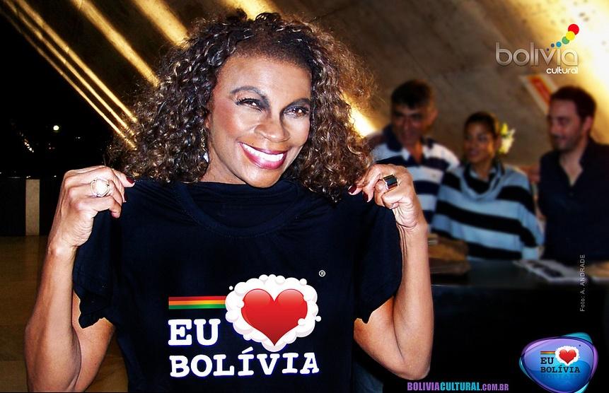 Zezé Motta apoio Bolívia Cultural