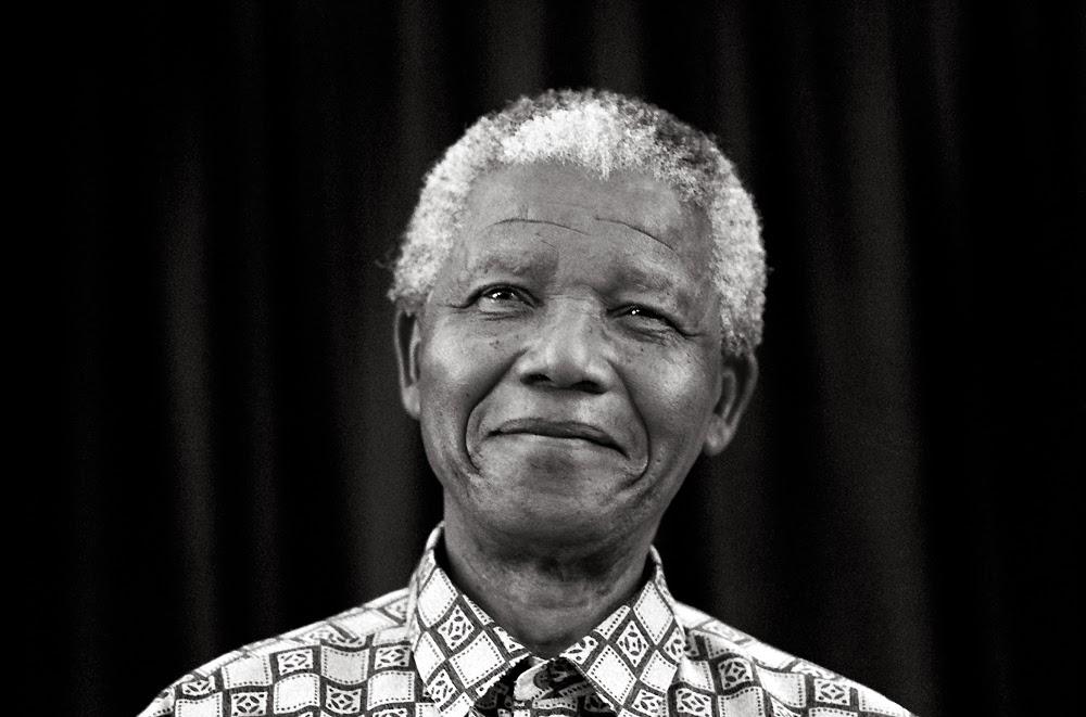 Nelson Mandela - portrait