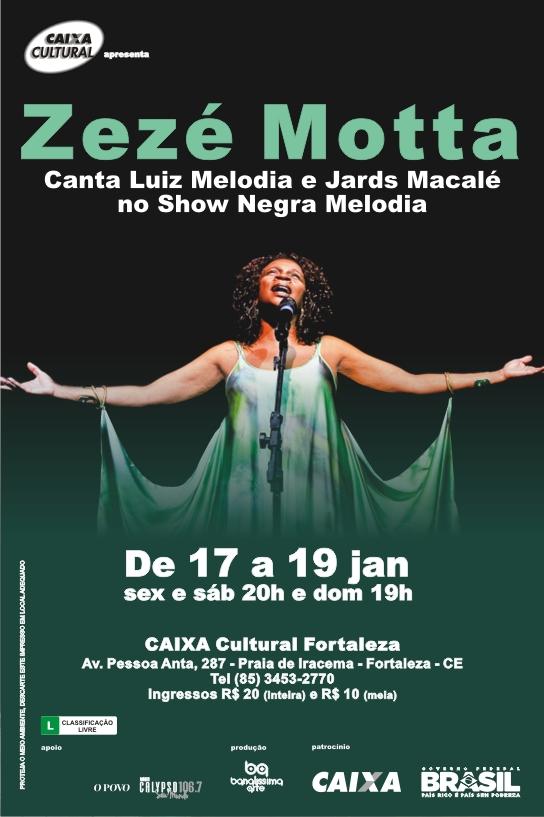 zezé motta caixa cultural fortaleza 2014