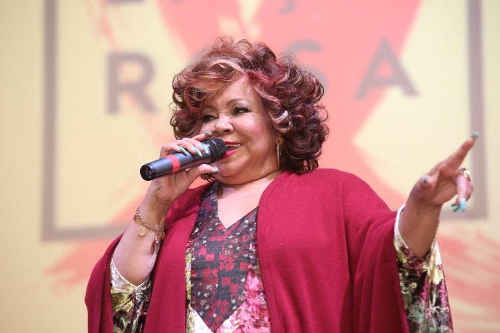 Alcione - 5 anos Fundação Laço Rosa no Copacabana Palace - Atriz e cantora Zezé Motta - Foto: Alessandro Mendes