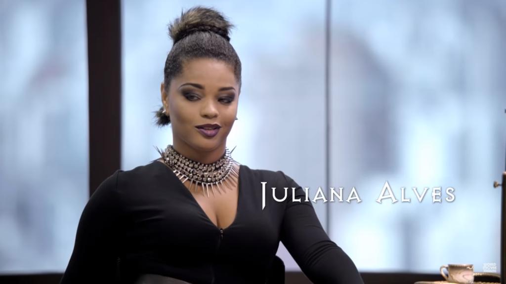 Juliana Alves em A Comédia Divina