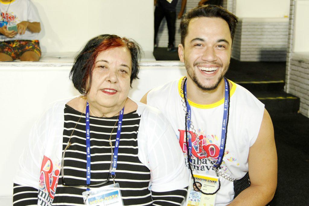 Vinicius Belo e Rosa Magalhães