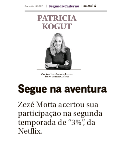 Zezé Motta em 3%, na Netflix