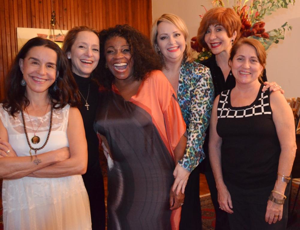 Lucelia Santos, Ana Botafogo, Zeze Motta, Sandra Pera e Betinha