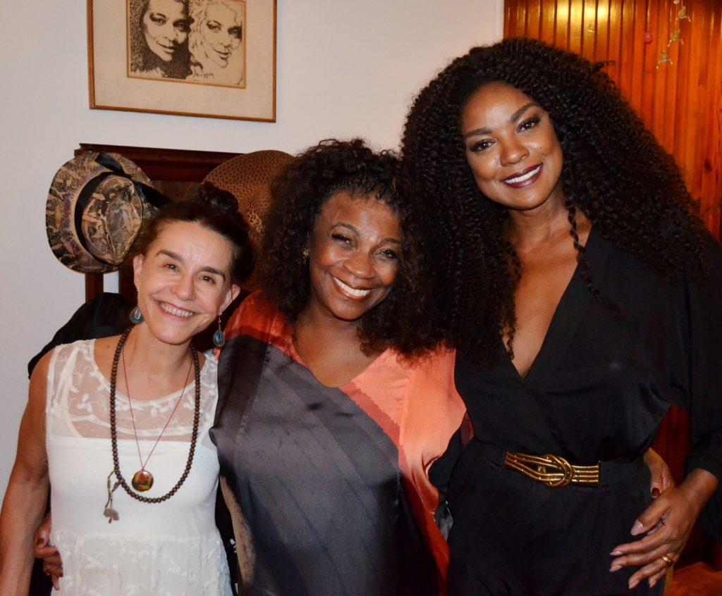 Lucélia Santos, Zezé Motta e Cris Vianna