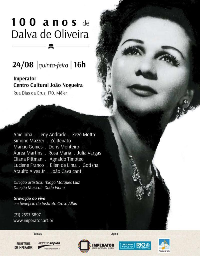 100 anos de Dalva de Oliveira no Imperator