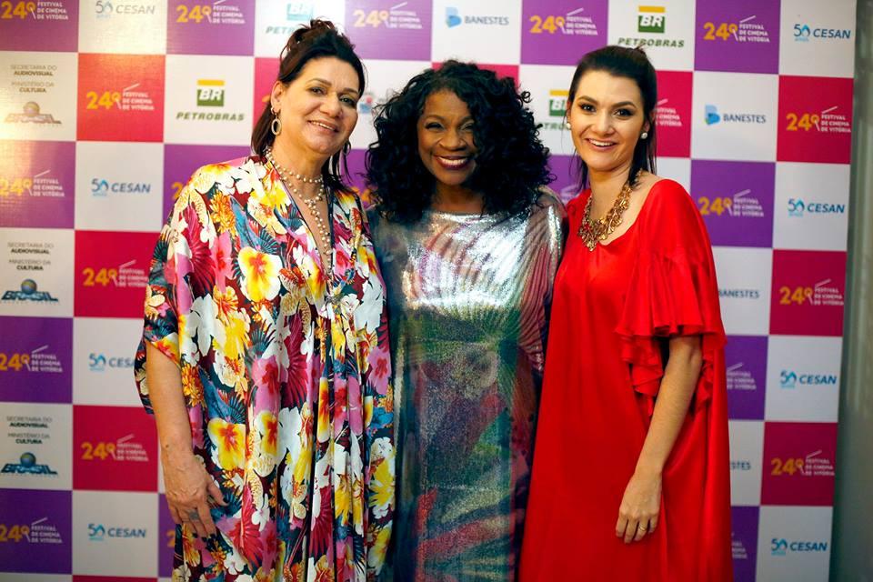 Zezé Motta | Festival de Cinema de Vitória com Lucia Caus