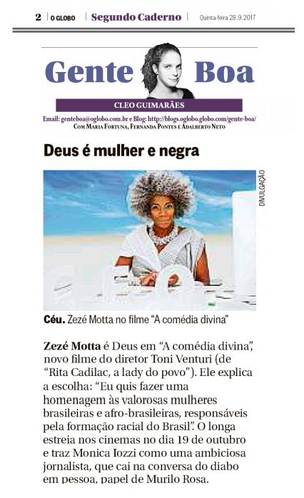 Zezé Motta Gente Boa O Globo