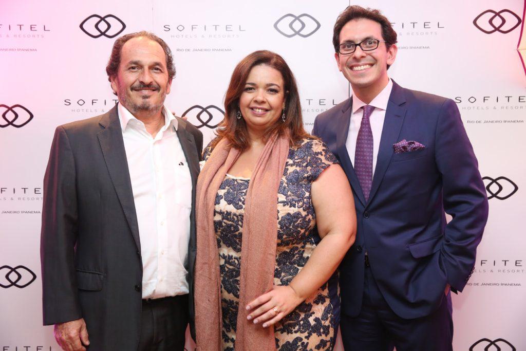 Philipe Seigle, Marcelle Medeiros e Netto Moreira | Foto: Alessandro Mendes
