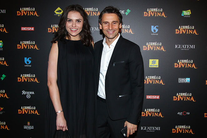 Murilo Rosa e Monica Iozzi