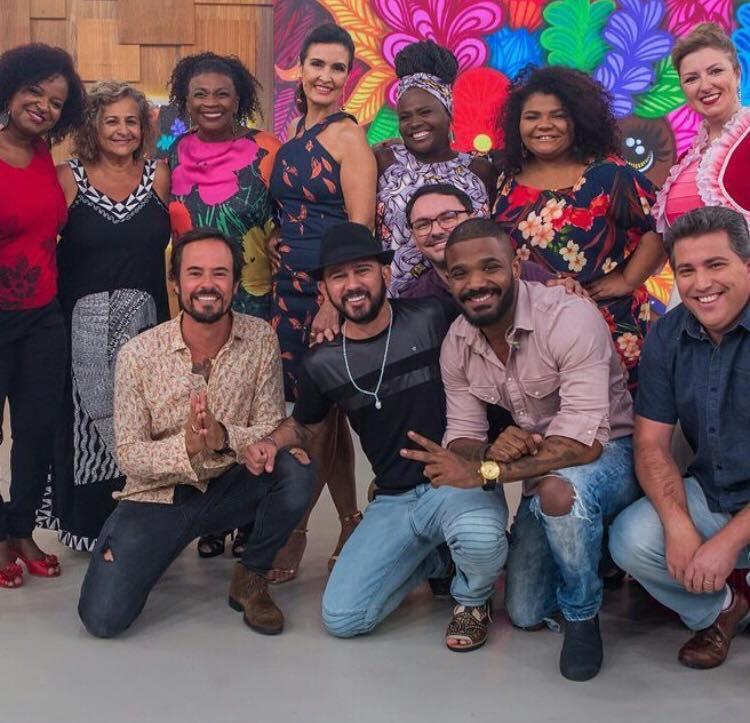 Zezé Motta no Encontro com Fátima Bernardes
