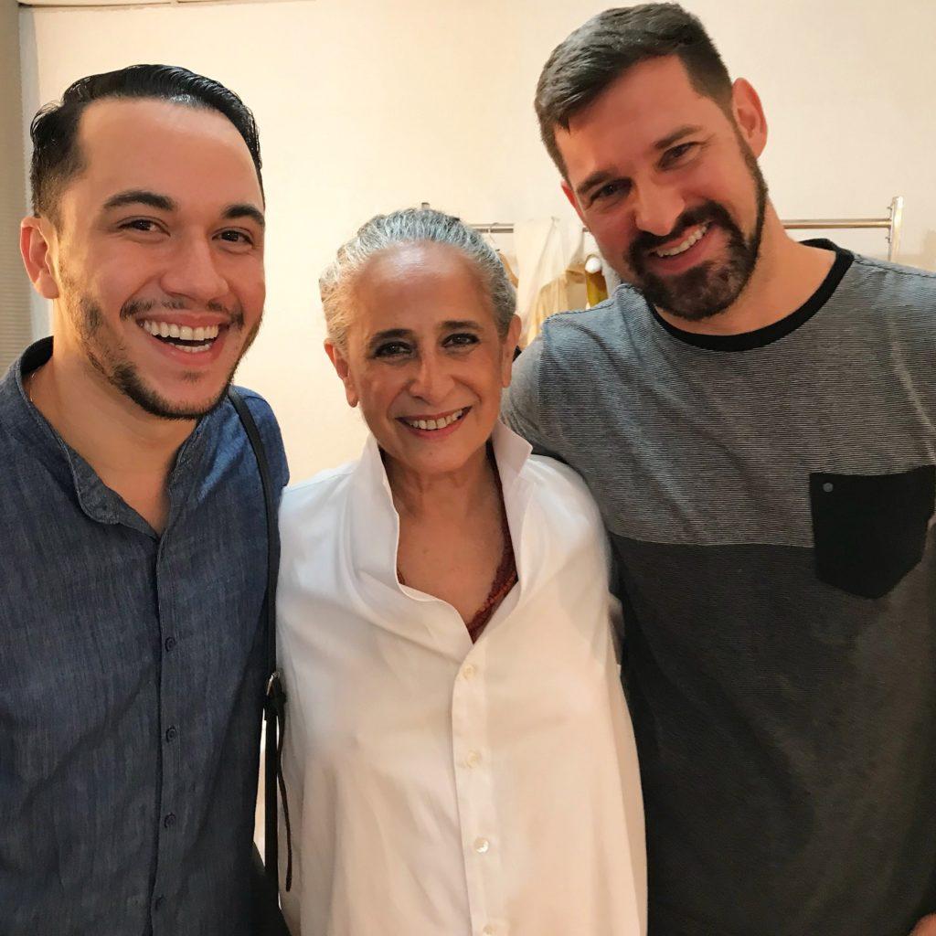 Vinicius Belo, Maria Bethânia e Claudio Tironi