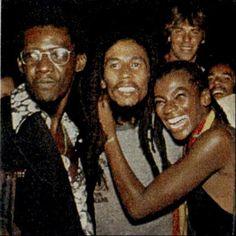 Bob Marley and Brazilian artist Zezé Motta, Rio de Janeiro, Brasil, March 1980