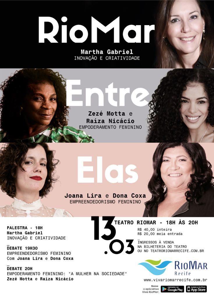 Zezé Motta no evento Riomar Entre Elas