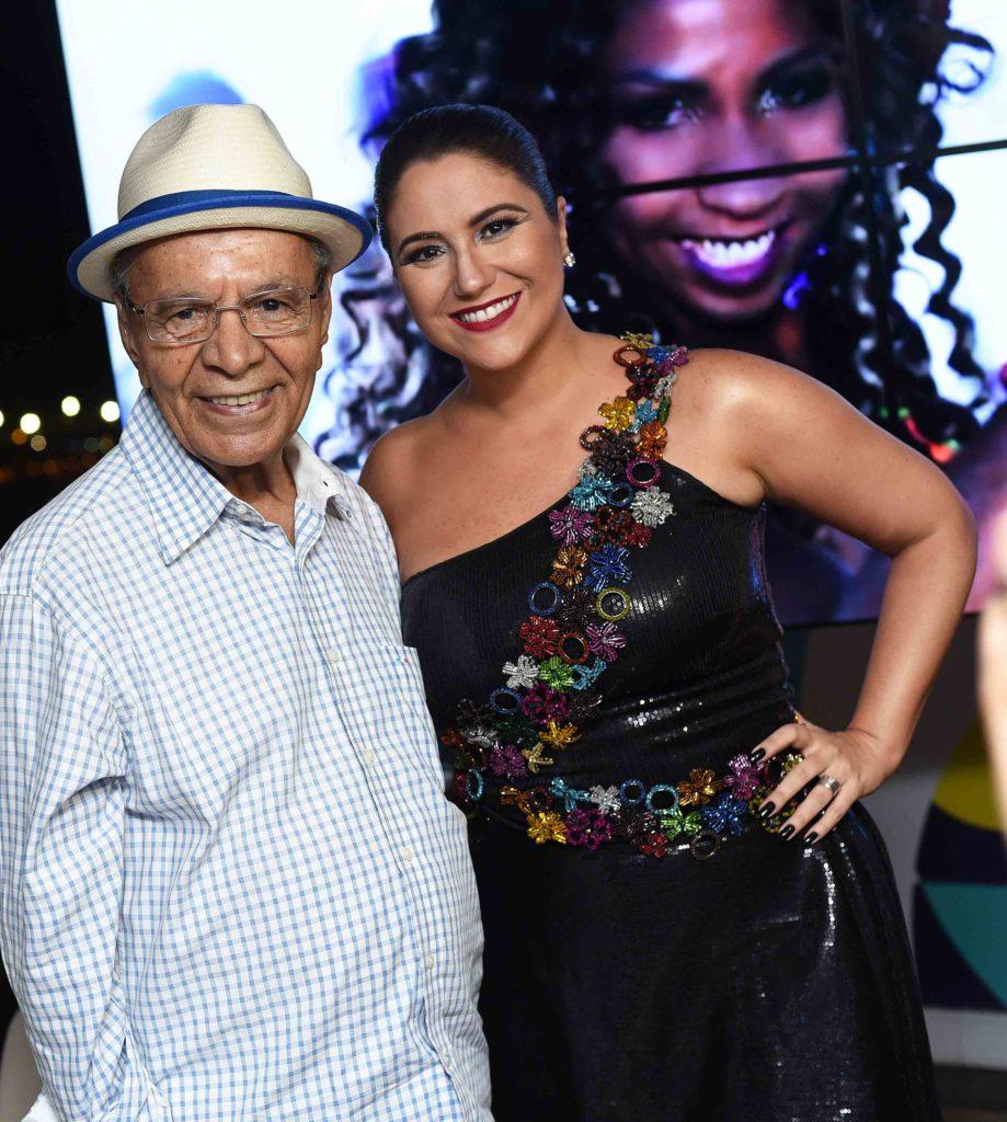 Monarco da Portela e Maria Rita | Foto: Ari Kaye