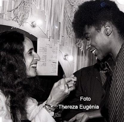 Zezé Motta e Maria Bethânia