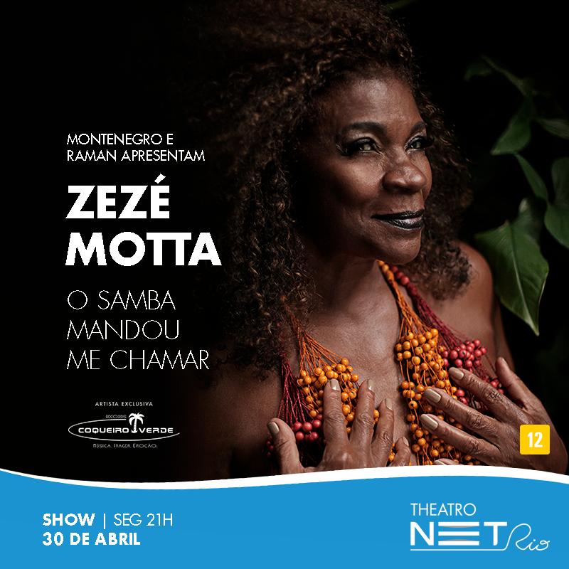 Zezé Motta O Samba Mandou me Chamar