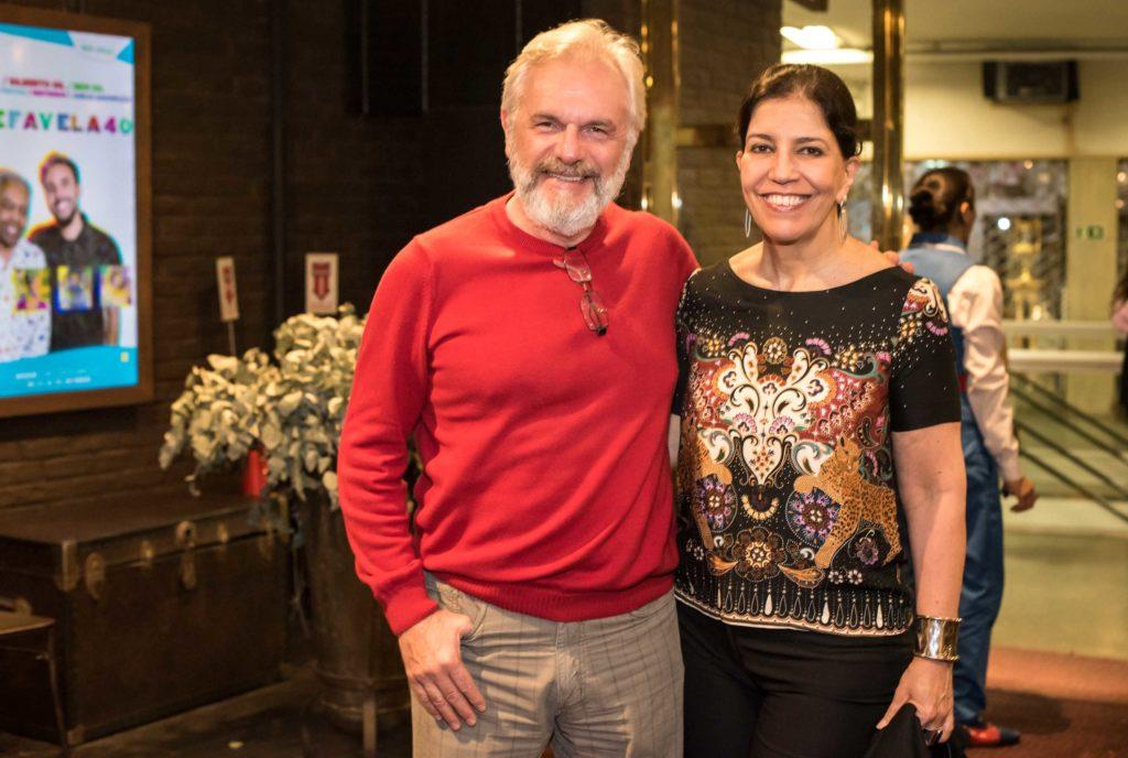 Henri Pagnoncelli e Teresa Frota | Foto: Mariama Prieto