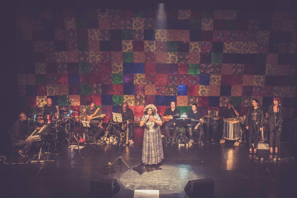 Zezé Motta no show O Samba Mandou Me Chamar | Foto: Mariama Prieto