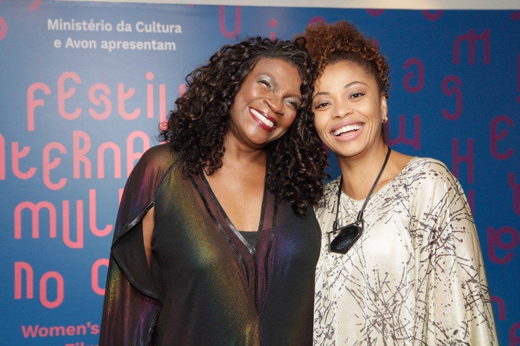 Zezé Motta e Adriana Couto