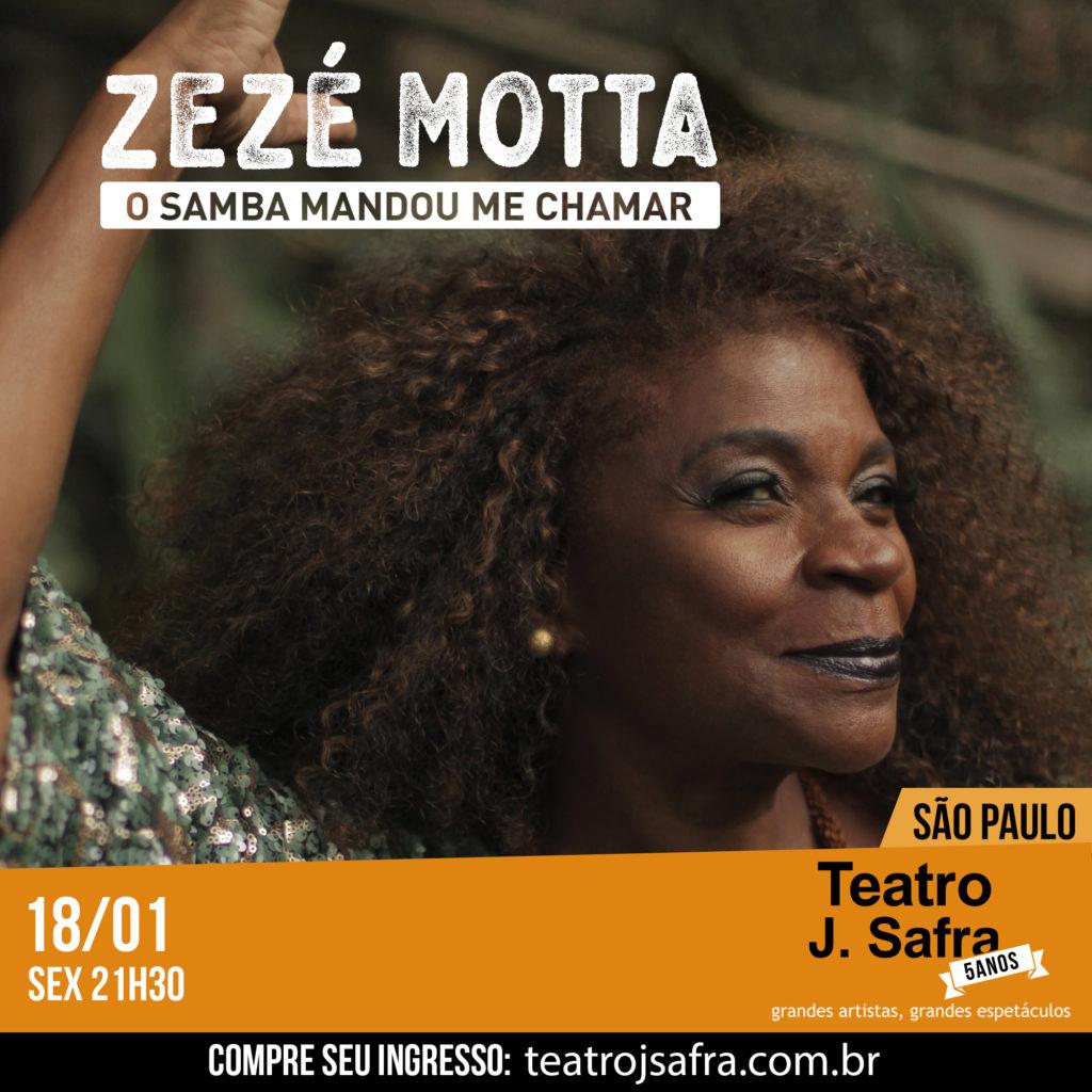 O Samba Mandou Me Chamar - Teatro J.Safra - São Paulo