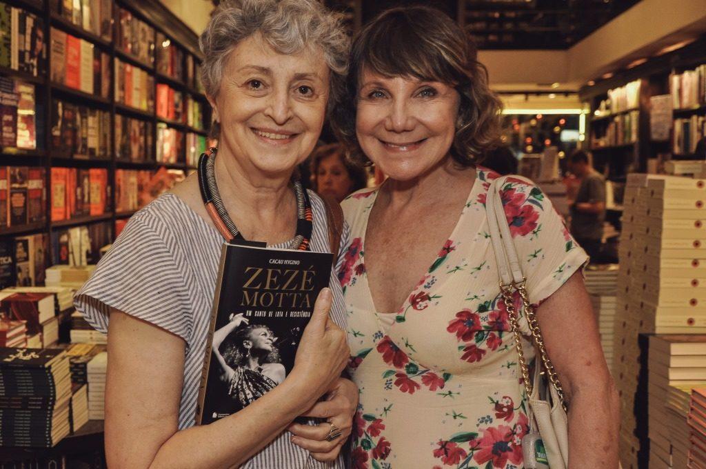 Ana Lucia Torre e Sylvia Massari. Credito Ariel Cavoti