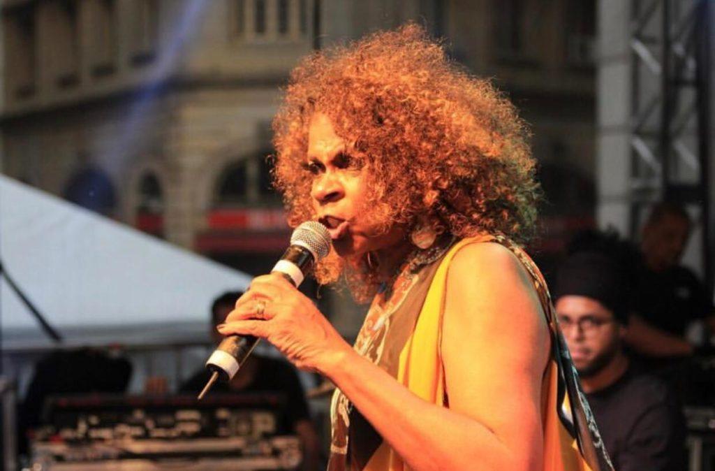 Zezé Motta no Festival de Natal | Foto: Aldho Photograph