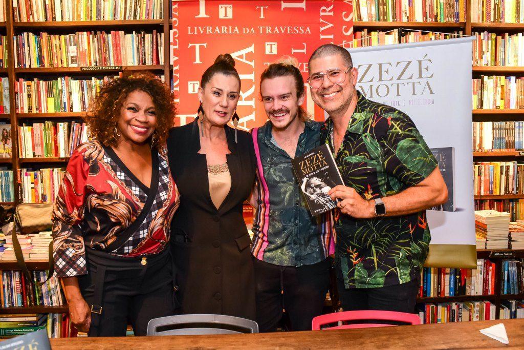 Zezé Motta, Claudia Wildberg, Yuri Ribeiro e Cacau