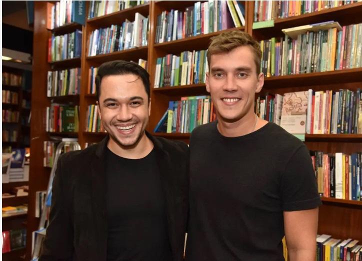 Vinicius Belo e Milton Castanheira | Foto: Christina Ruffato