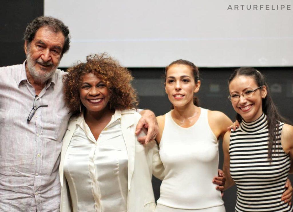 Jesus Chediak, Zezé Motta, Andrea Raw e Julita Machado