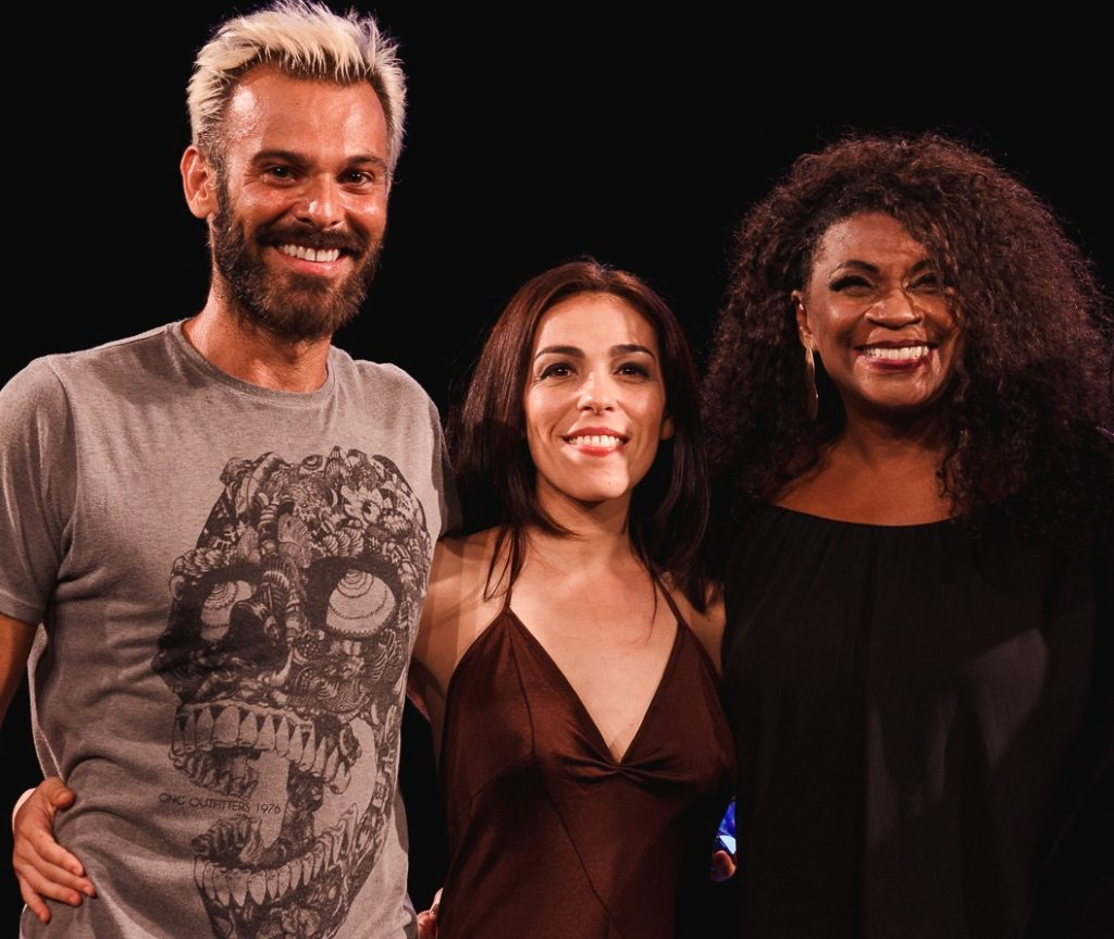 Orlando Avila Kilesse, Andrea Raw e Zezé Motta | Foto Guto Pereira