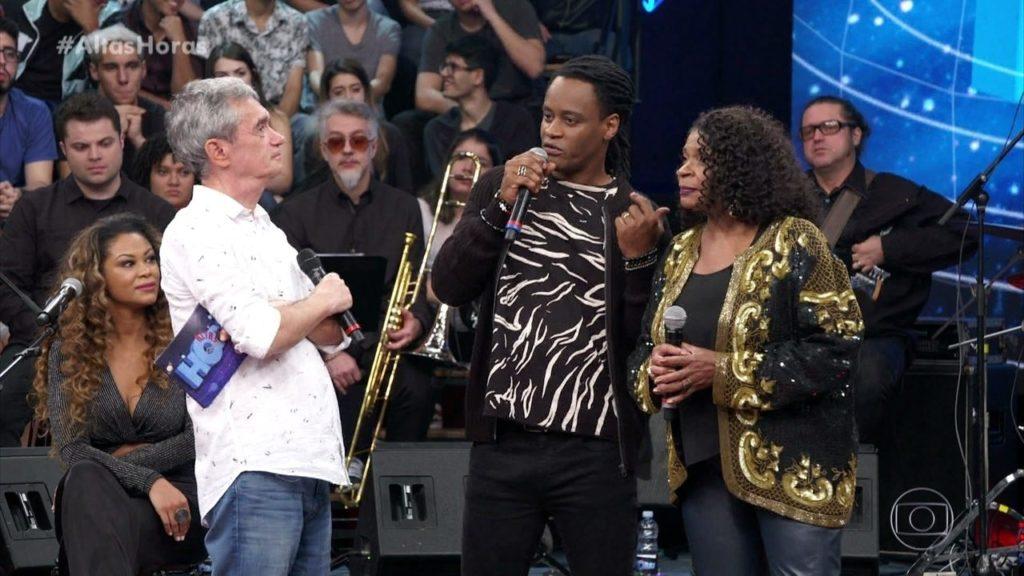 Zezé Motta e Toni Garrido no Altas Horas, Globo