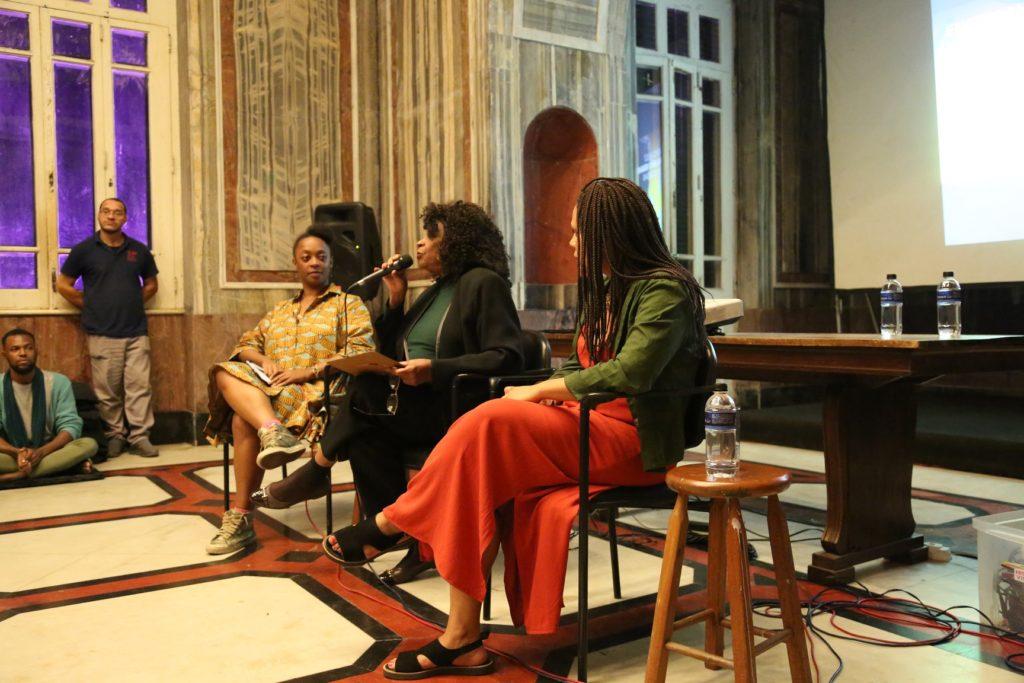 Zezé Motta fala sobre cultura negra no Parque Lage