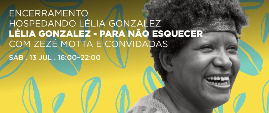 Evento em homenagem a Lélia Gonzalez
