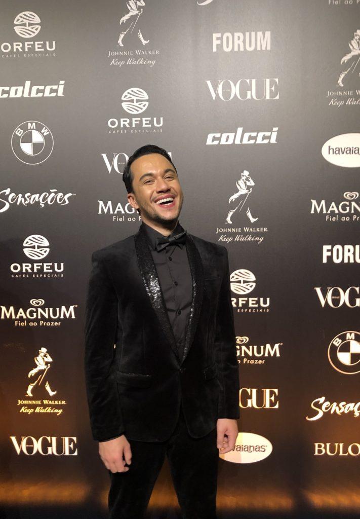 Vinicius Belo no Baile da Vogue 2019