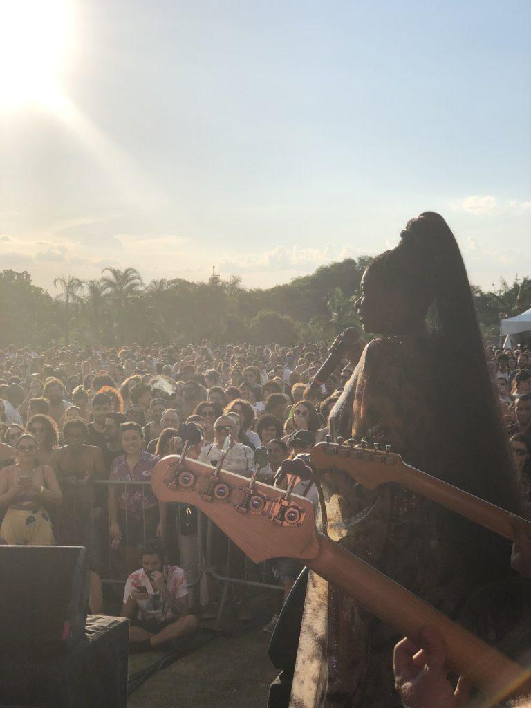 Zezé Motta no show Oba, Lá Vem Elas, Trip Transformadores | Foto: divulgação