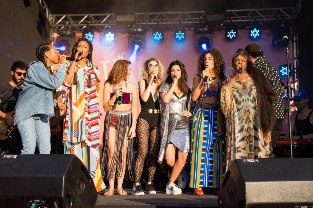 Luedji Luna, Mariana Aydar, Ana Canas, Emanuelle Araújo, Márcia Castro e Zezé Motta