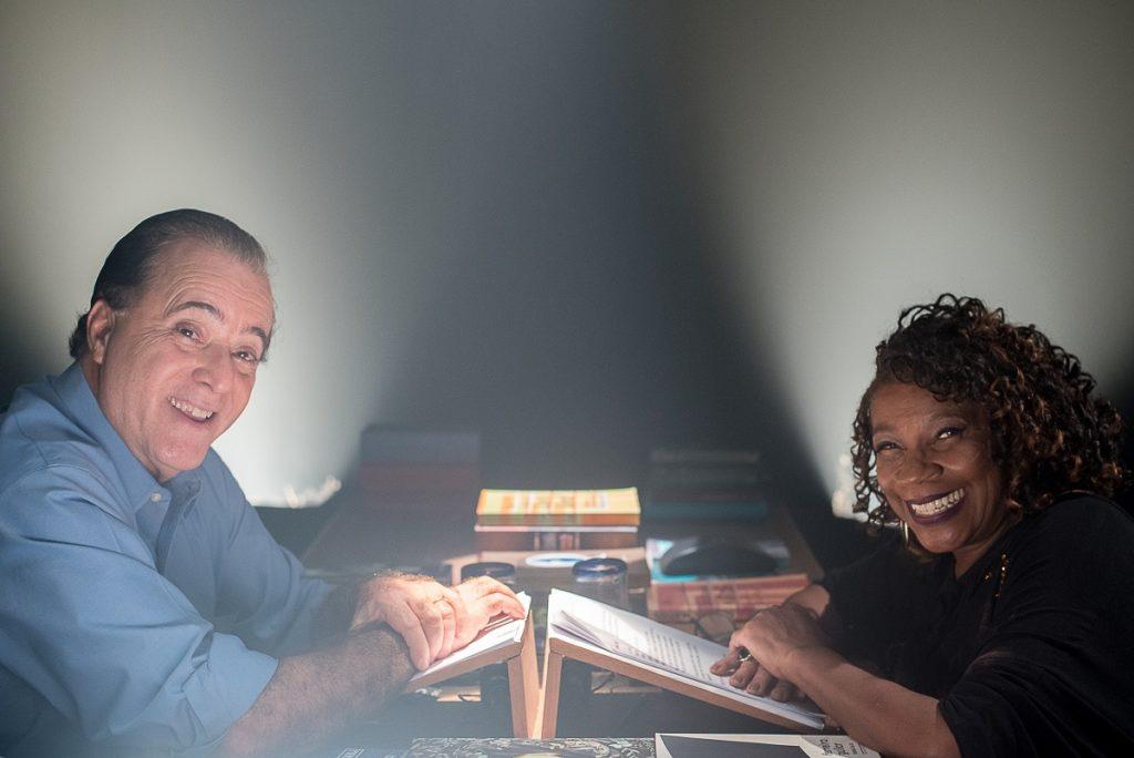 Tony Ramos e Zezé Motta