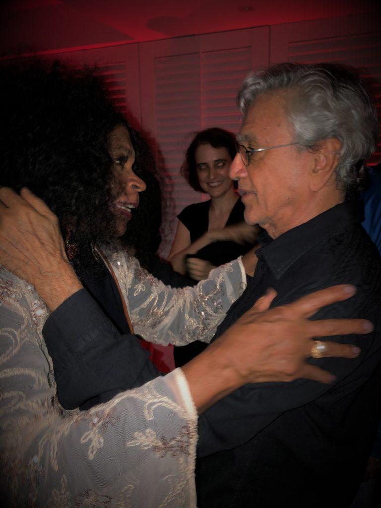 Zezé Motta e Caetano Veloso | Foto: Vinicius Belo