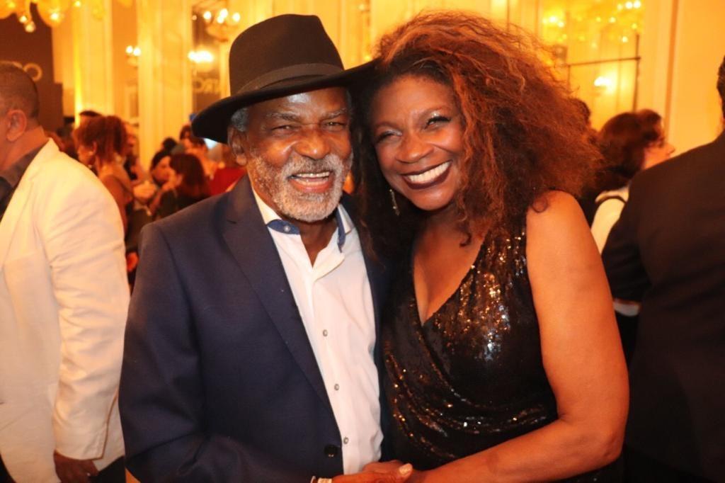 Zezé Motta e Antônio Pitanga | Foto: Zequinha Santos
