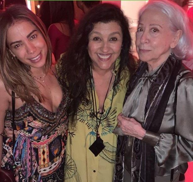 Anitta, Regina Casé e Fernanda Montenegro | Foto: Reprodução