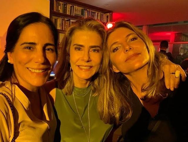 Gloria Pires, Maitê Proença e Maria Padilha | Foto: Reprodução