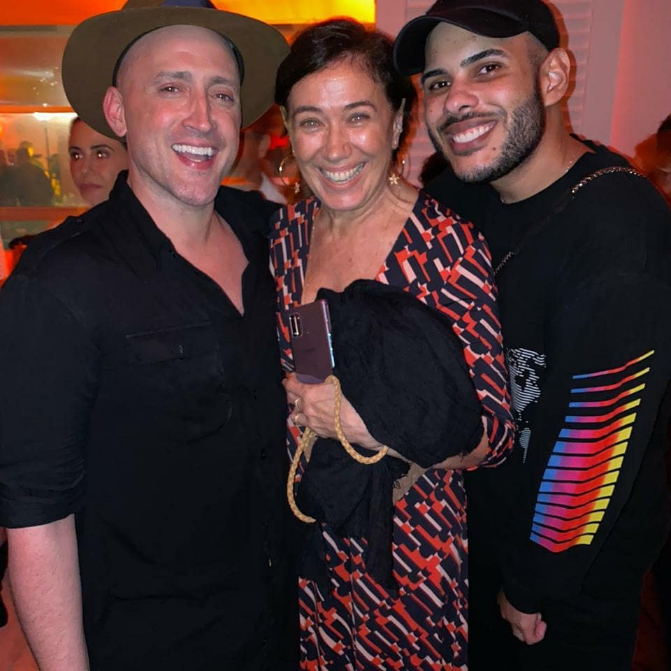 Paulo Gustavo, Lília Cabral e Hugo Gloss / Foto: Reprodução