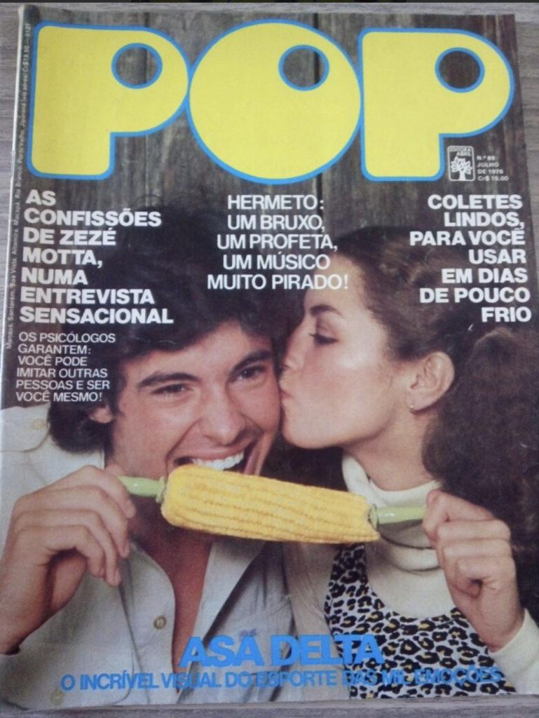 Zezé Motta na Revista Pop 69 de Julho 1978